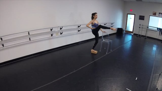Elite Endurance Barre with Block
