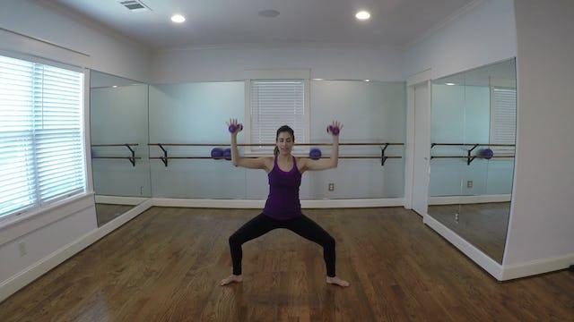 Elite Endurance Barre Cardio Knee-Up Side
