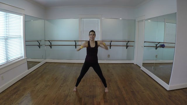 Elite Endurance Barre Arms Punch Cross