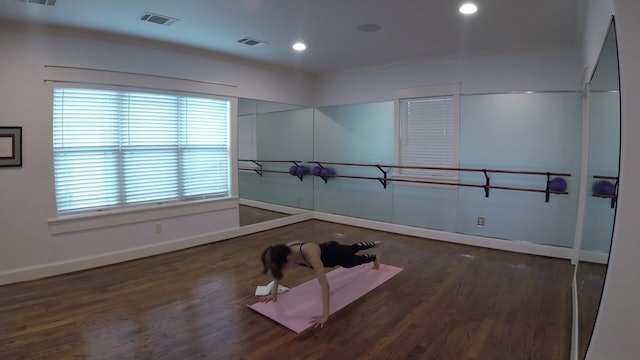 Elite Endurance Barre Arm Sequence with Towel