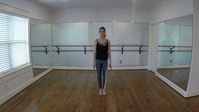 Elite Endurance Barre Cardio Heel/Toe