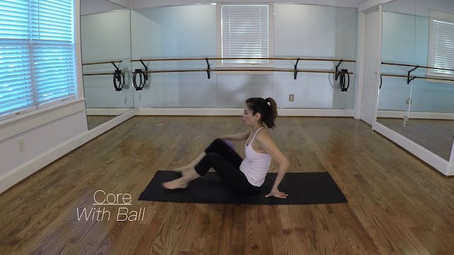Elite Endurance Barre Core with Ball