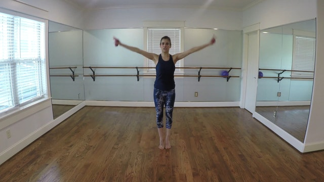 Elite Endurance Barre Arms/Arabesque