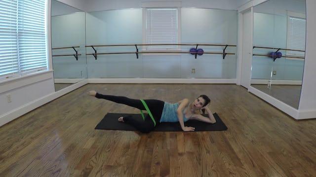 Elite Endurance Barre Lower Body Green Band