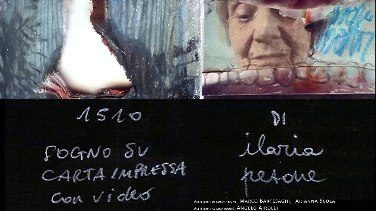 1510 Sogno su carta impressa con video