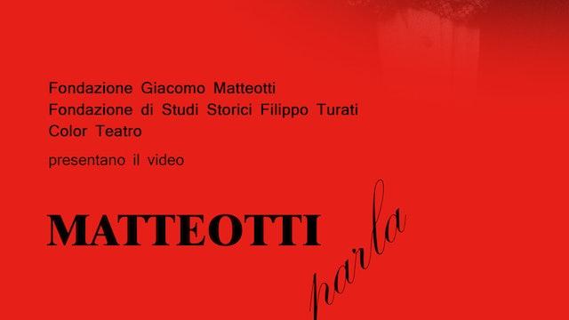 Matteotti parla
