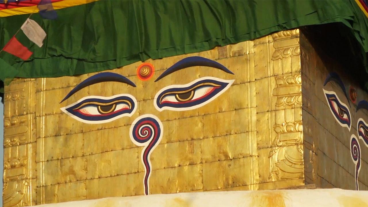 Sulle orme di Buddha