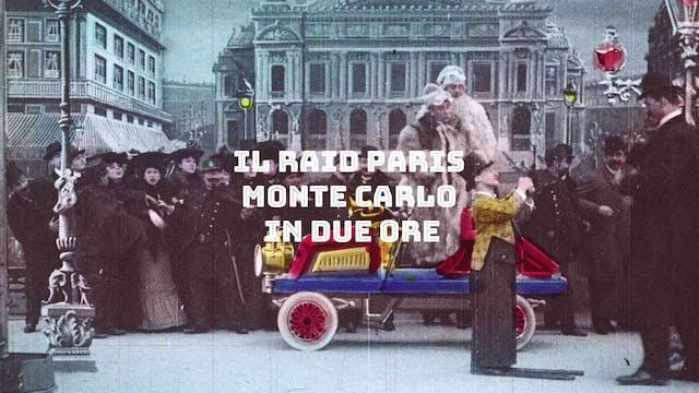Il Raid Paris Montecarlo in due ore