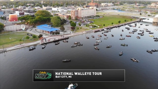NWT 2018 Saginaw Bay • National Walleye Tour