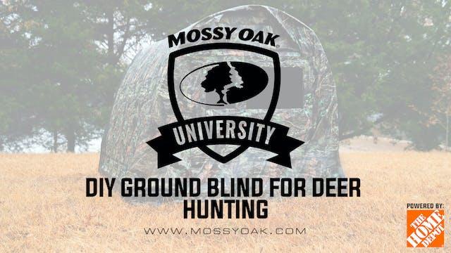 DIY Ground Blind For Deer & Turkey Hu...
