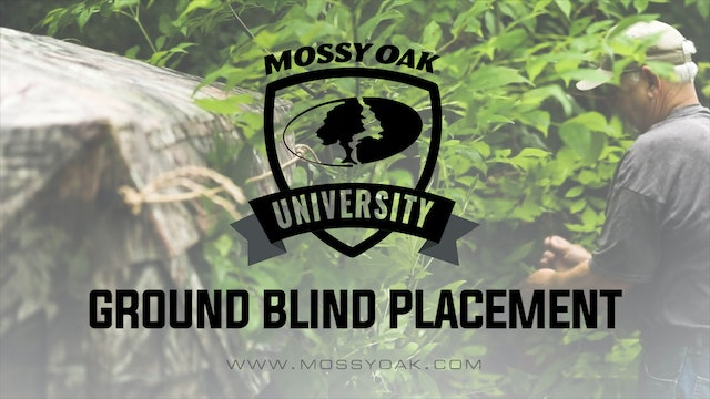 Ground Blind Placement