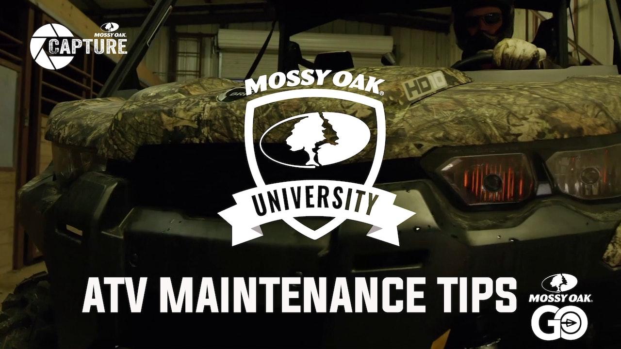 Can-Am ATV Maintenance • Mossy Oak University