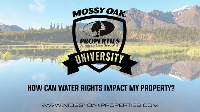 How Can Water Rights Impact My Property?