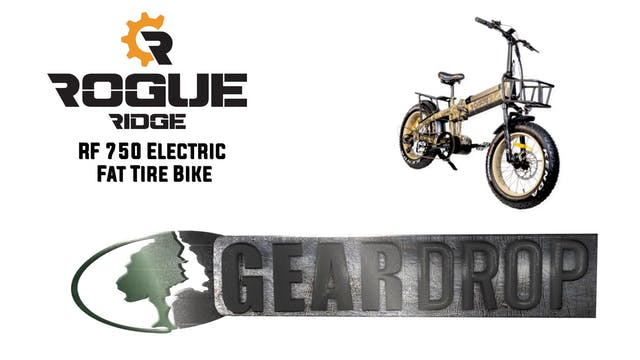 Rogue Ridge RF750 Fat Tire Electric B...