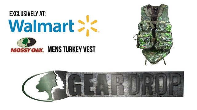 Mossy Oak Men's Turkey Vest • Gear Drop