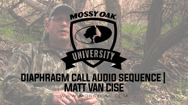 Matt Van Cise Mouth Call Audio Sequence