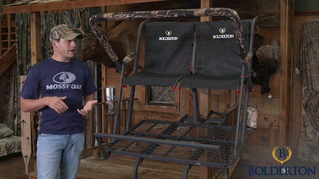 Two Man Premium Ladder Stand • Sportsmans Guide