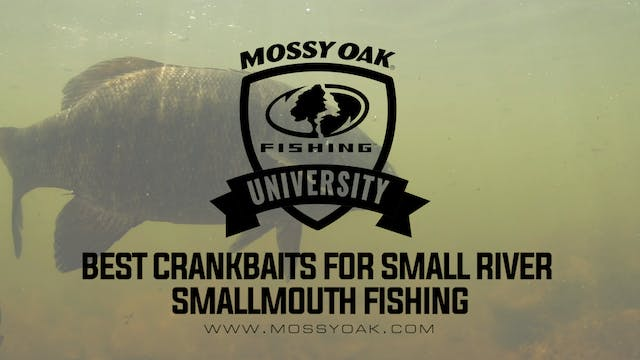 Crankbaits For Small River Smallmouth...