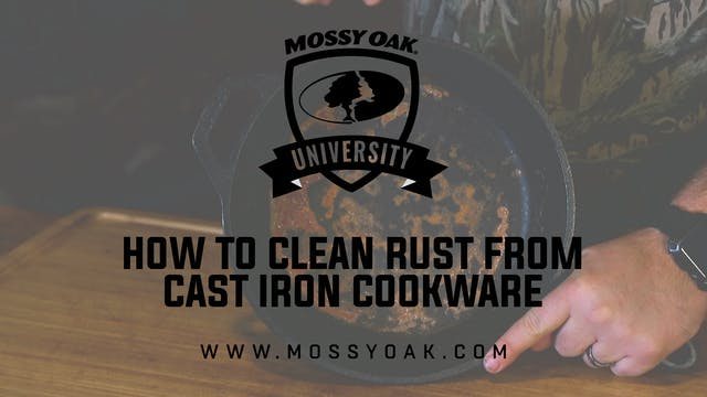How to Clean Rust Out Of Cast Iron Co...