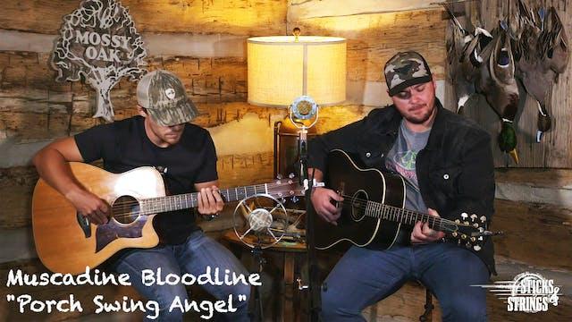 Porch Swing Angel • Muscadine Bloodli...