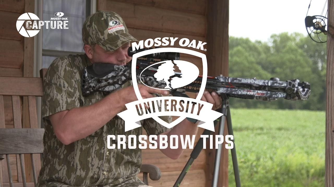 Crossbow Tips • Mossy Oak University