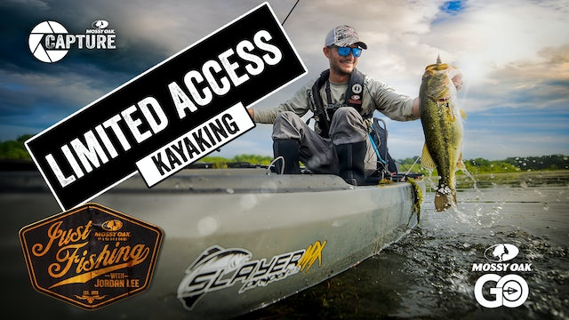 Limited Access Kayaking • Just Fishing