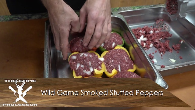 Wild Game Smoked Stuffed Peppers • The Game Processor