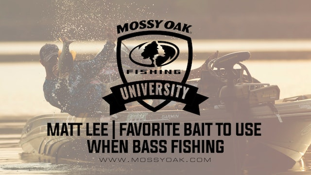 Favorite Bait To Use When Bass Fishing With Matt Lee