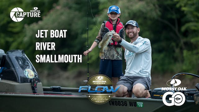 Jet Boat River Smallmouth • Flow With...