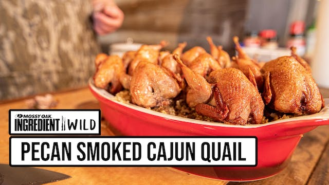 Pecan Smoked Cajun Quail with Malcom ...
