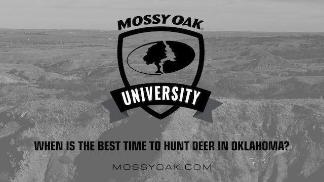 Oklahoma Hunting Tips 07 - When is the Best Time