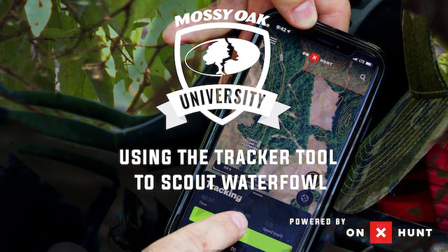 Using The Tracker Tool To Scout Water...