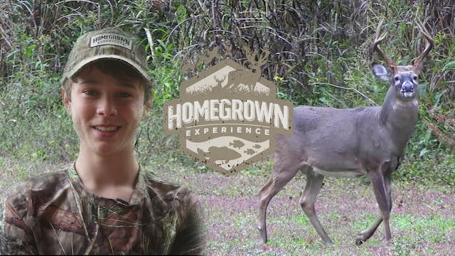 Surprise Buck During Kentucky Youth S...