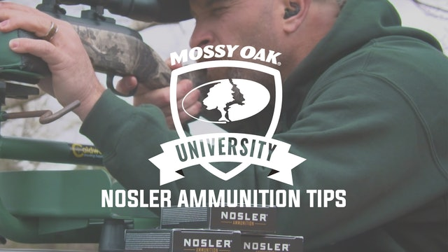 Nosler Ammunition Tips