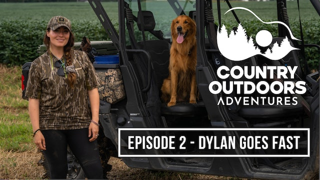 Dylan Goes Fast • Country Outdoors Adventures
