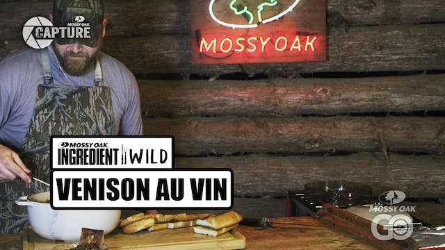 Venison Au Vin · Ingredient Wild