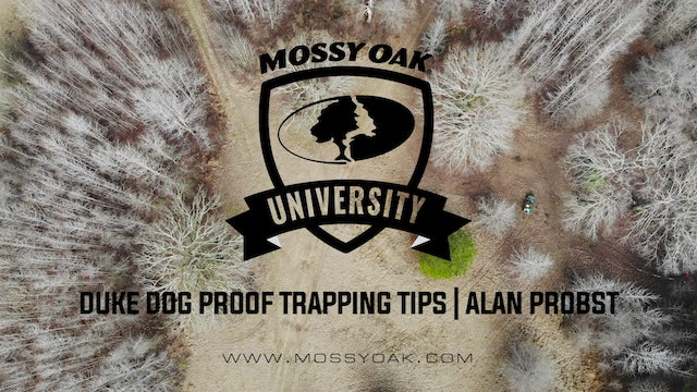 Duke Dog Proof Trapping Tips with Alan Probst