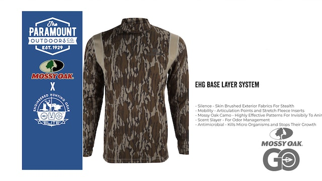 EHG Base Layer System • Paramount