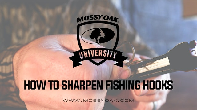 How To Sharpen Fishing Hooks