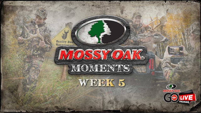 Live: 10.5.2020 Mossy Oak Moments Replay