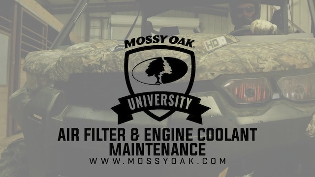 ATV Air Filter & Engine Coolant