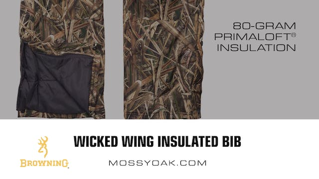 Browning • Wicked Wing Insulated Bib ...