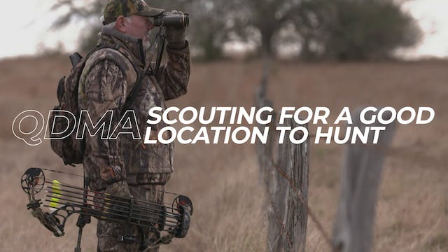 Scouting For a Good Location to Hunt