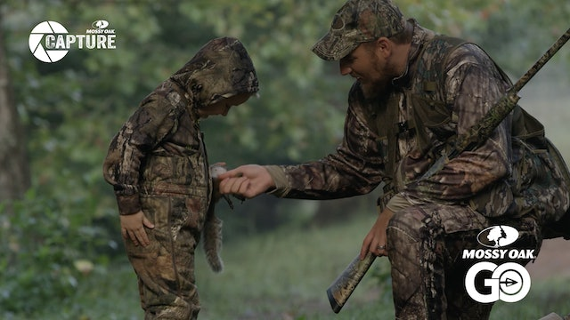 Kentucky Squirrel Hunting Traditions • Walt Gabbard Teaching His Son Boone