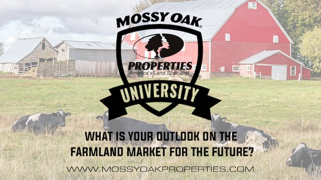 What Is Your Outlook On The Farmland Market For The Future?