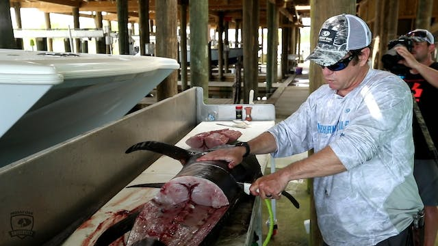 How to Clean a Swordfish