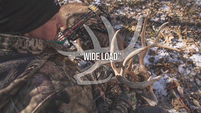 Wide Load • Heartland Bowhunter • Behind the Draw