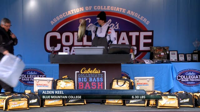 2018 Cabela's Collegiate Big Bass Bas...