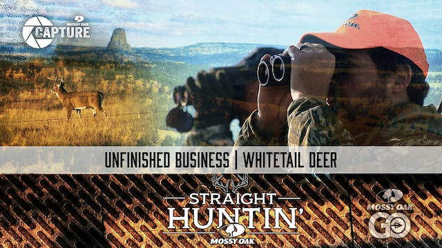 Unfinished Business • Whitetail Deer ...