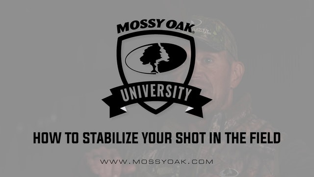 How To Stabilize Your Shot In The Field • Shooting Tips
